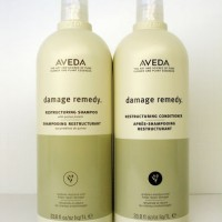 Aveda Damage Remedy Salon Sizes 1Litre/1000ml Shampoo & Conditioner Duo Pack