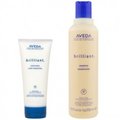 Aveda Brilliant Shampoo and Conditioner Duo Pack