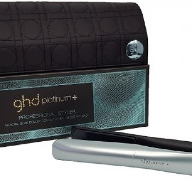 GHD Platinum + Glacial Blue Styler  eb0022de0b