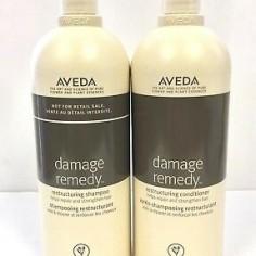 Aveda Damage Remedy Salon Sizes 1Litre/1000ml Shampoo & Conditioner Duo Pack