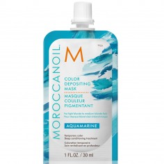 Moroccanoil Color Depositing Mask 30ml (Aquamarine)