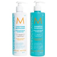 Moroccanoil Moisture Repair Shampoo and Conditioner 500ml Duo Set
