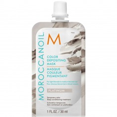Moroccanoil Color Depositing Mask 30ml (Platinum)